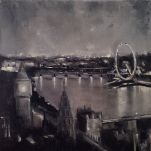 'City Lights' 30x30cm SOLD