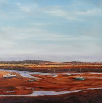 'Low Tide, Wells' 40x40cm £265