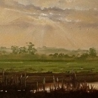 'Olney Ouse' 24x8 SOLD