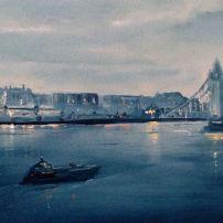 'Tower Bridge Nocturne' SOLD