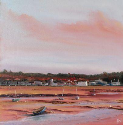 'Wells: Evening Light' 40x40cm £265