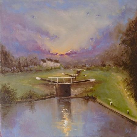 'The Locks' #6 30x30cm £169