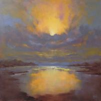 'Breaking Light III' 76x76cm SOLD