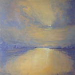 'Dawn Clouds' 76x76cm SOLD
