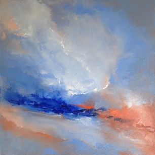 'Abstract Clouds' 2014 40x40cm £330