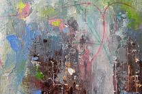 Abstract painting by Dan Wellington