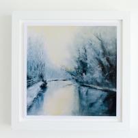 giclee-print-art-print-landscape-oil painting-winter-2-framed